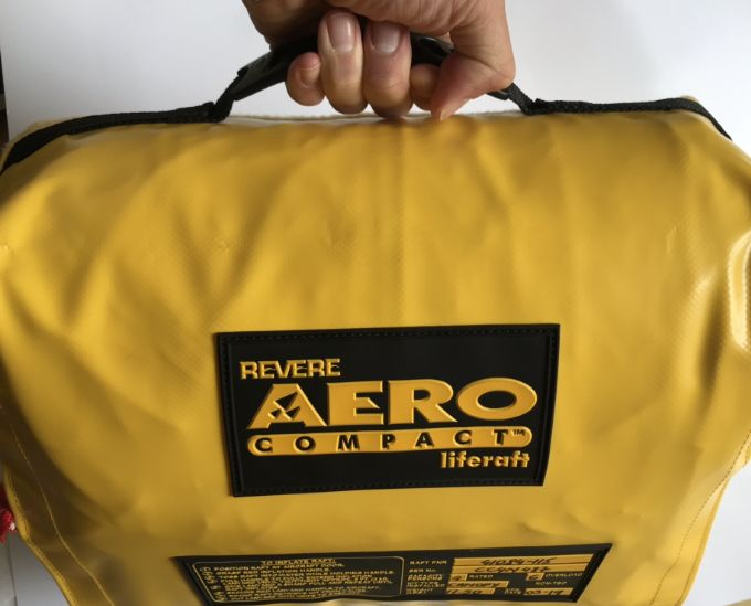 Aero Compact Four Man Aviation Survival Liferaft with Canopy